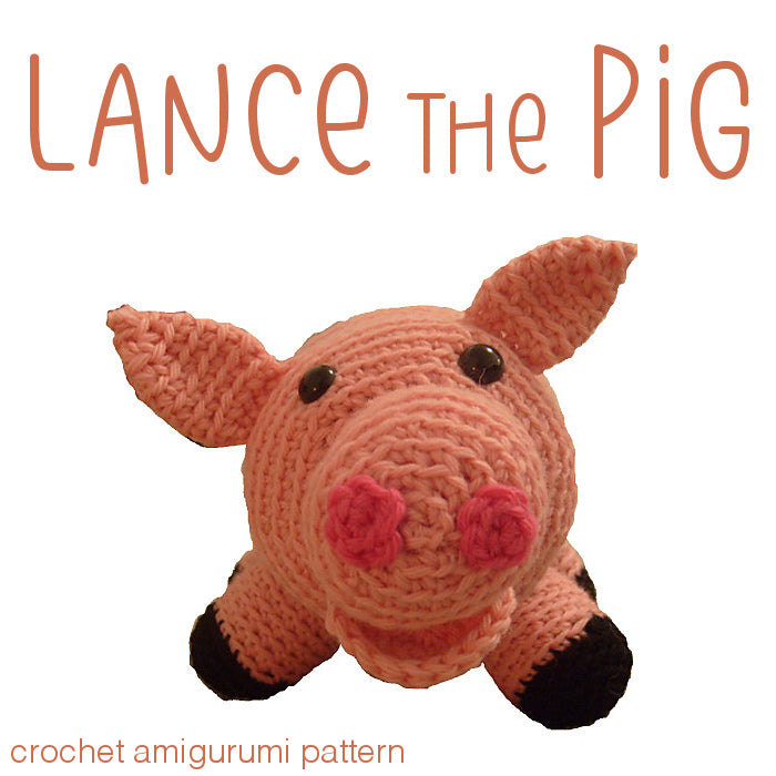 Pattern: Chinese New Year Pig - All About Ami | 700x700
