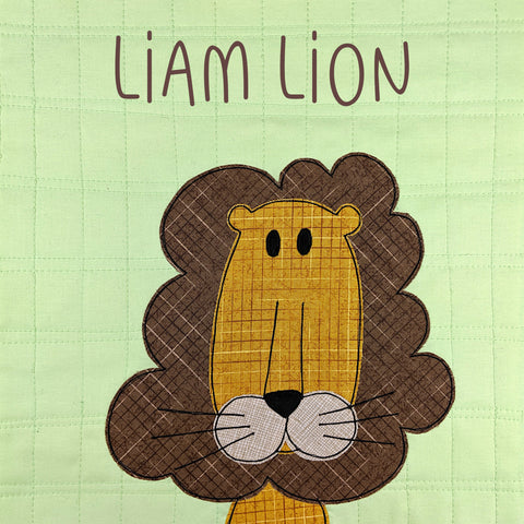 Liam Lion Applique Pattern