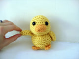 Mal the Tiny Duck Crochet Amigurumi Pattern