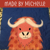Mo the Muskox Applique Pattern