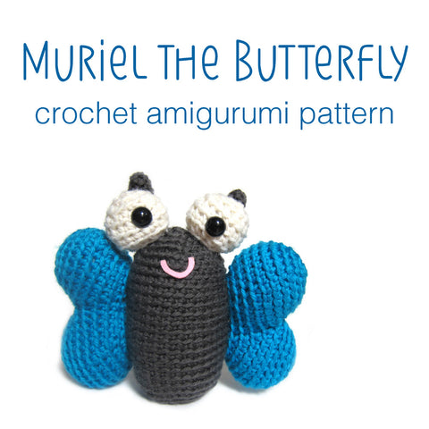 Muriel the Butterfly Crochet Amigurumi Pattern