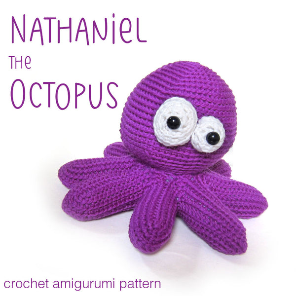Nathaniel the Octopus Crochet Amigurumi Pattern