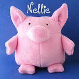 Nellie - a pig stuffed animal pattern