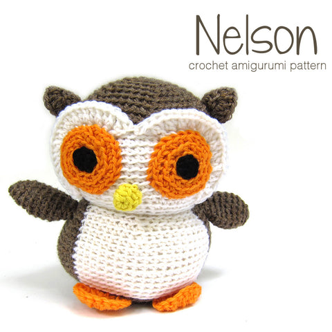 Nelson the Owl - Amigurumi Pattern