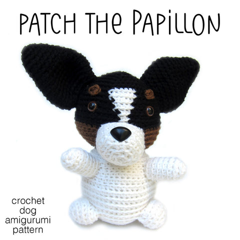 Patch the Papillon Crochet Amigurumi Pattern