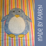 Paxton Penguin Applique Pattern
