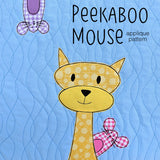Peekaboo Mouse Applique Pattern