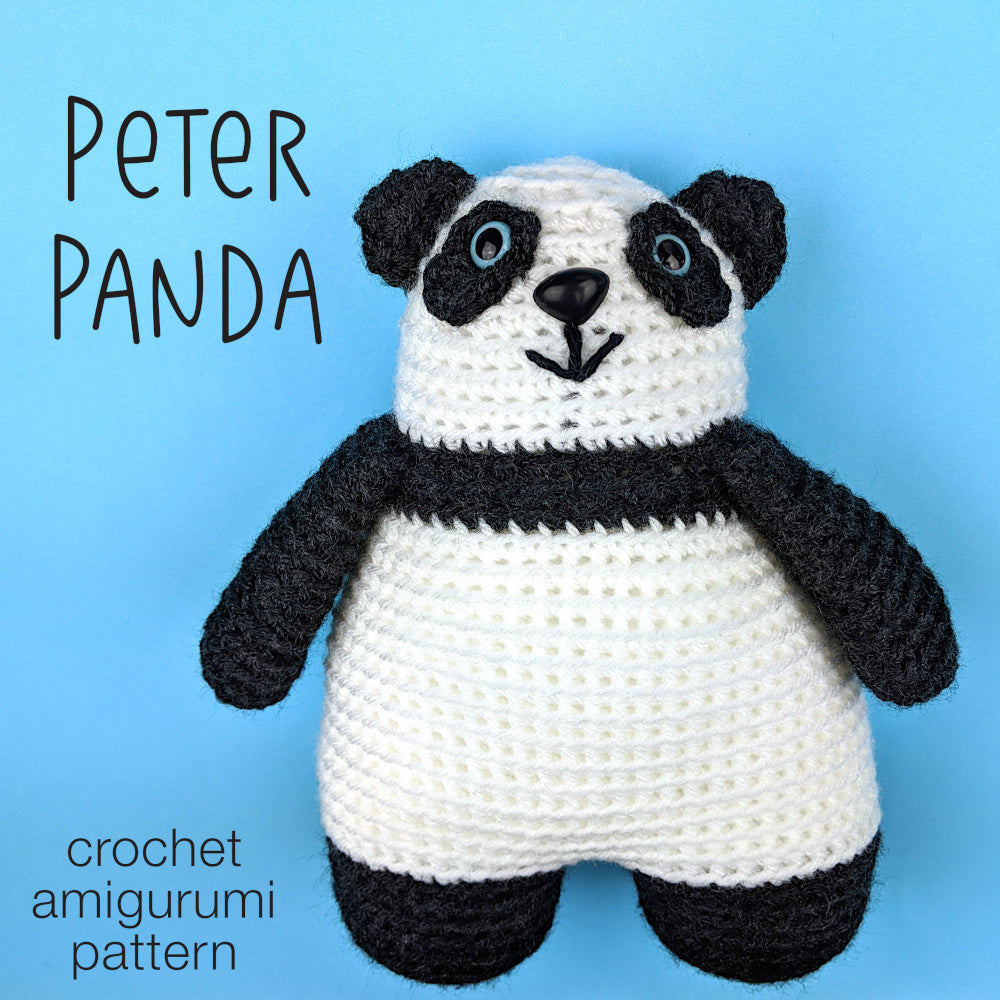 9 Crochet Panda Patterns – Cute Amigurumi Bear Toys - A More ... | 1000x1000