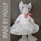 Pip - Dress Up Bunch Kitty Softie Pattern