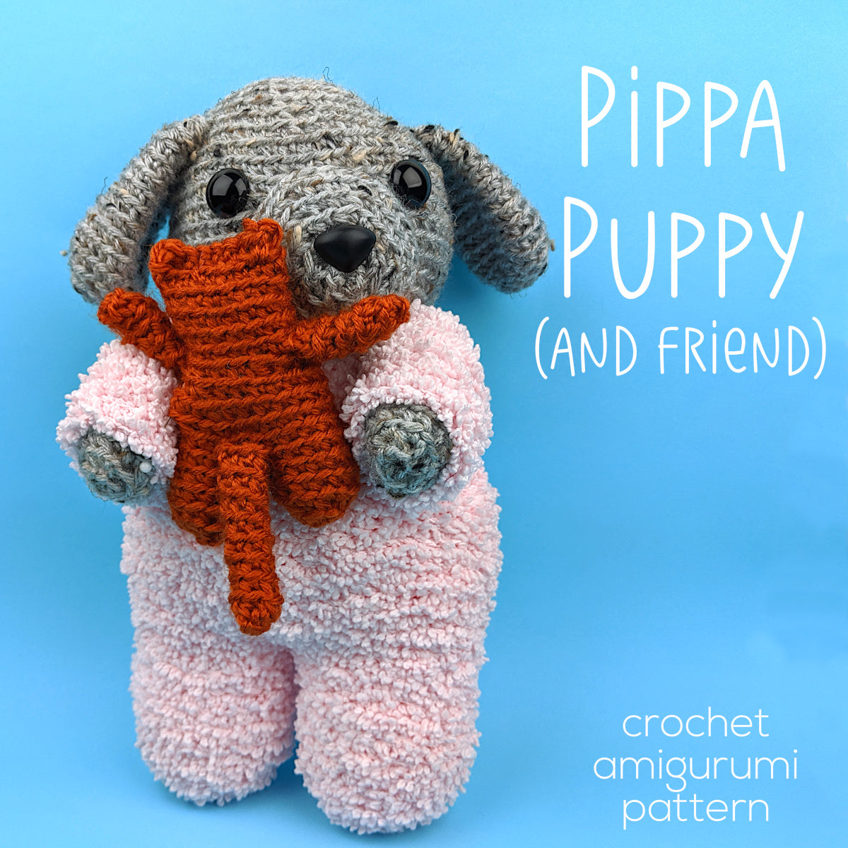 134 Crochet Pattern Dog Dachshund Genreh - Amigurumi PDF file by ... | 1200x1200