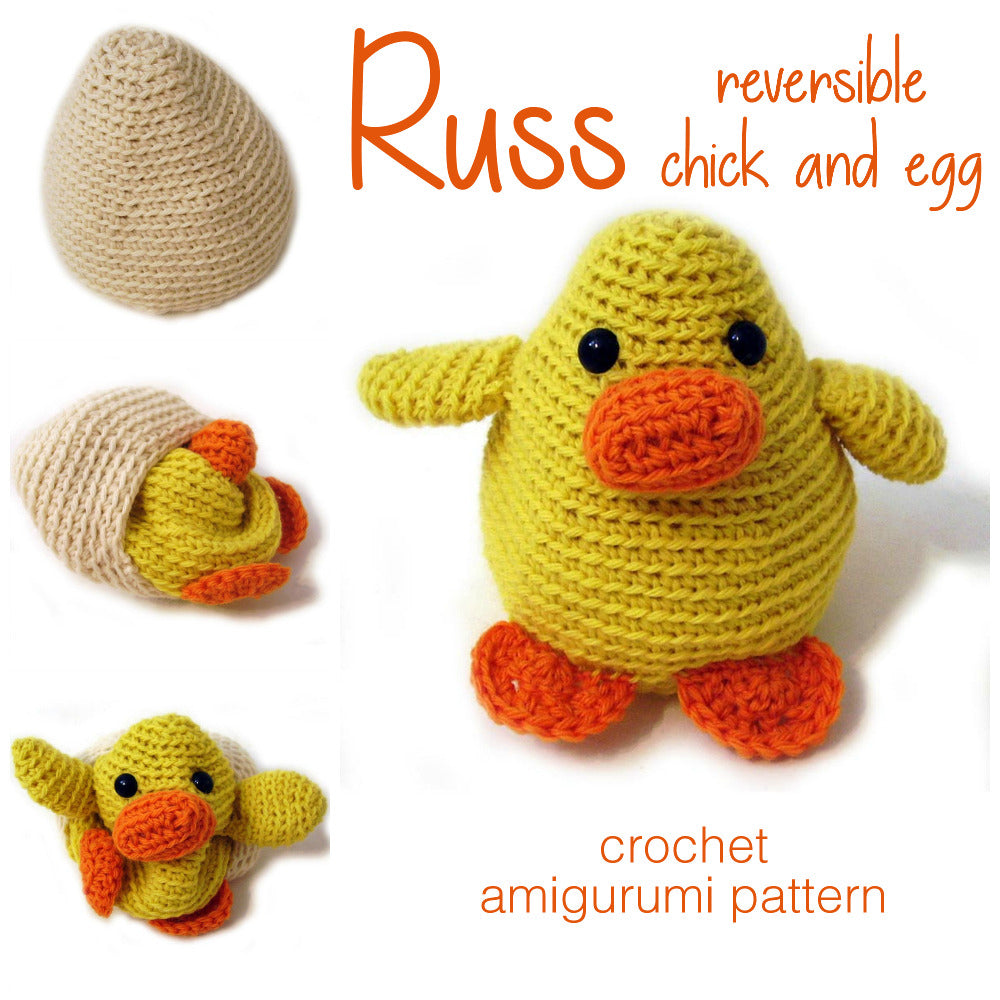 Golden Chicken Amigurumi - Free Crochet Pattern | Craft Passion | 1000x1000