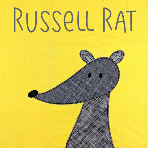 Russell Rat Applique Pattern