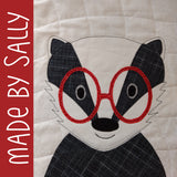 Benjamin Badger Applique Pattern