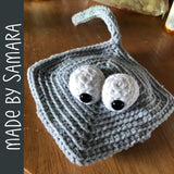 Stanley the Stingray Crochet Amigurumi Pattern