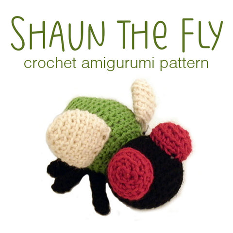 Shaun the Fly Crochet Amigurumi Pattern