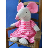 Squeak - Dress Up Bunch Mouse Softie Pattern