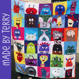 Mix & Match Monsters Quilt Pattern