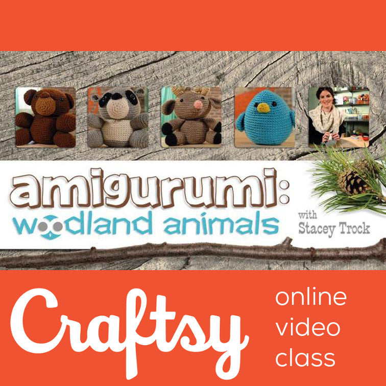 Amigurumi: Woodland Animals - Craftsy Class