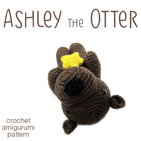 Ashley the Otter Crochet Amigurumi Pattern