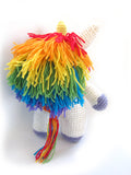 Flavia the Unicorn Crochet Amigurumi Pattern