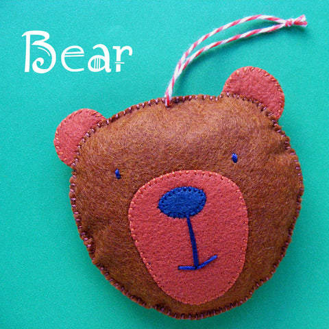 Bear Ornament Pattern
