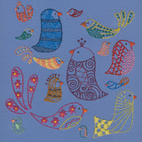 Birds embroidery pattern