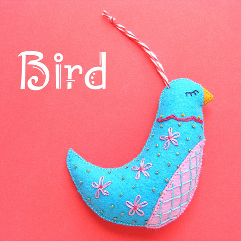 Bird Ornament Pattern