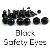 Black Safety Eyes