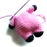 Clarita the Pig Crochet Amigurumi Pattern