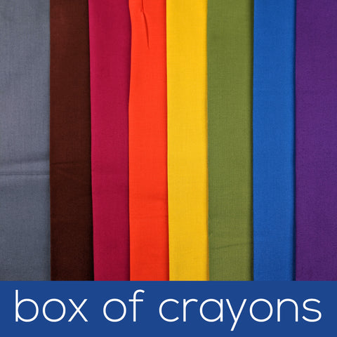 Box of Crayons Fabric Bundles