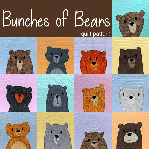 Bunches of Bears Quilt Pattern