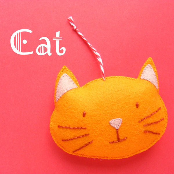 Cat Ornament Pattern