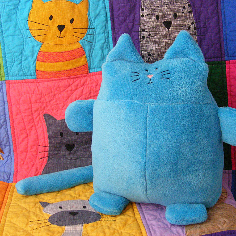 photograph relating to Free Printable Cat Quilt Patterns referred to as Cats Quilt Habit
