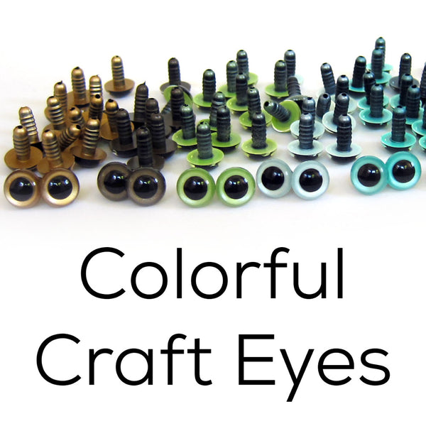 Colorful Craft Eyes
