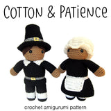Cotton and Patience Pilgrim Amigurumi Pattern