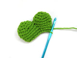 Sean the Shamrock Crochet Amigurumi Pattern