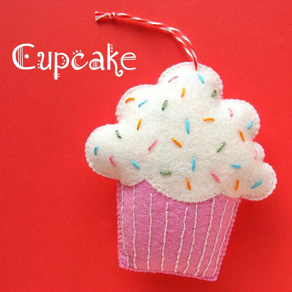 Cupcake Ornament Pattern