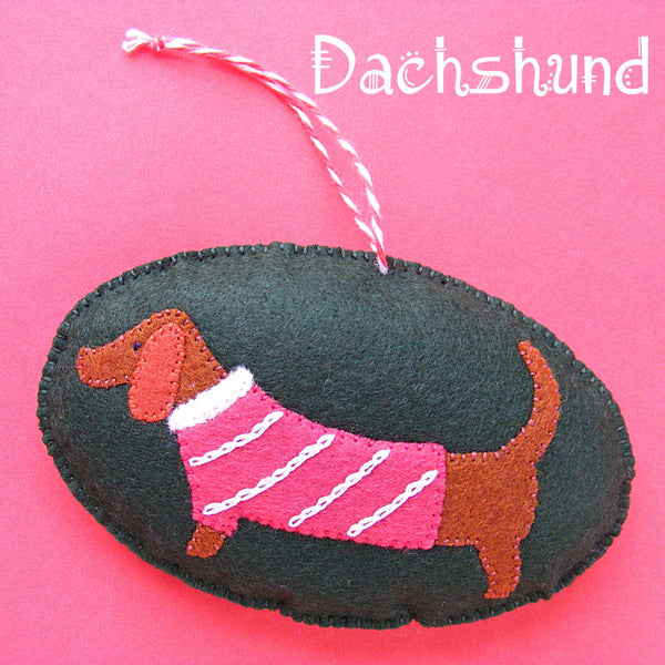 Dachshund Ornament Pattern