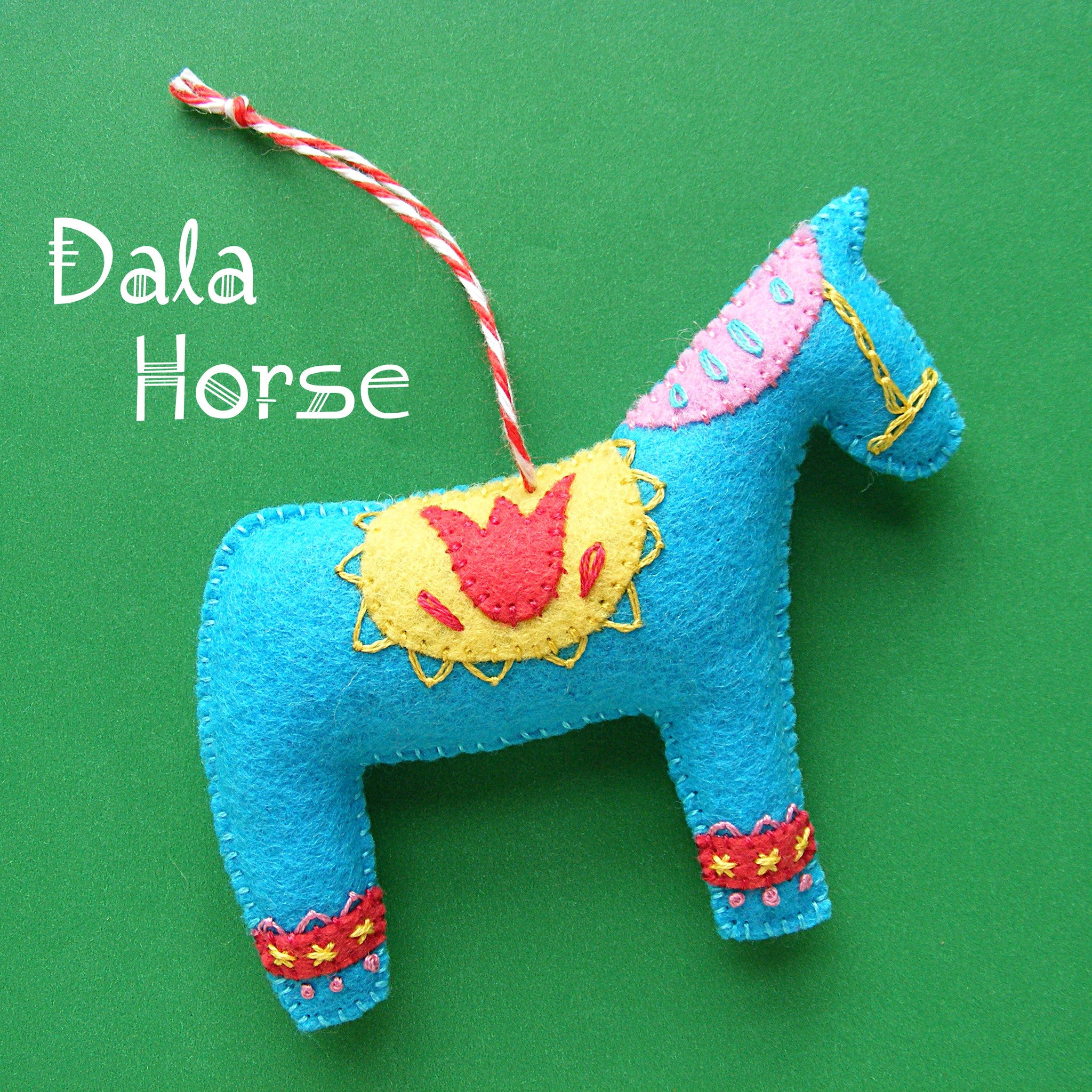 Dala Horse Ornament Pattern