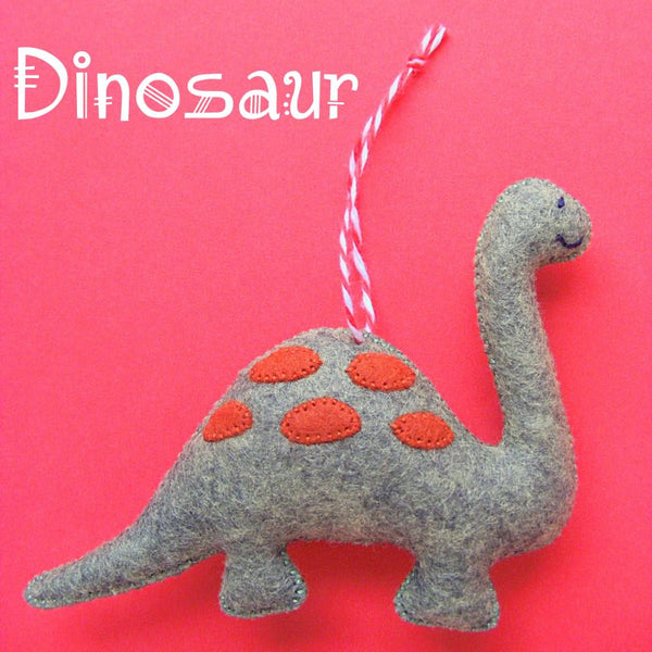 Dinosaur Ornament Pattern