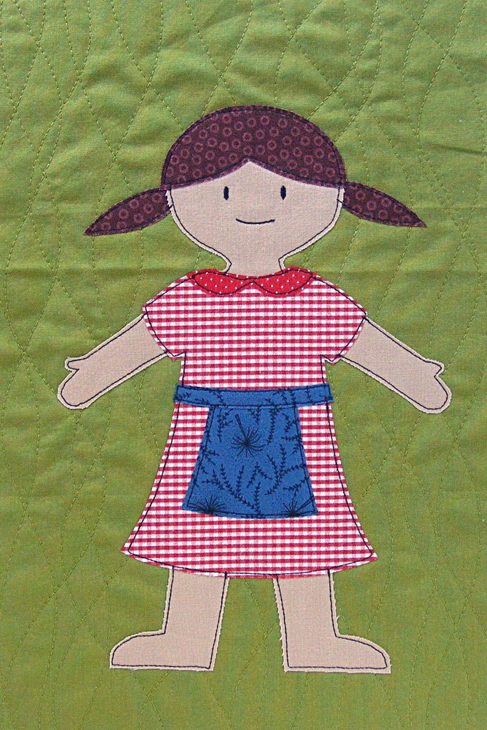 Paper Dolls - FREE CRAFT PATTERNS for Everyday Arts & Crafts  |Everyday Paper Dolls Pattern
