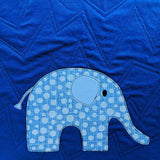 Elephant Parade Quilt Pattern