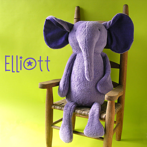 Elliott the Elephant Pattern