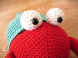 Jack the Hermit Crab Crochet Amigurumi Pattern