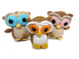 Nel the Tiny Owl Crochet Amigurumi Pattern