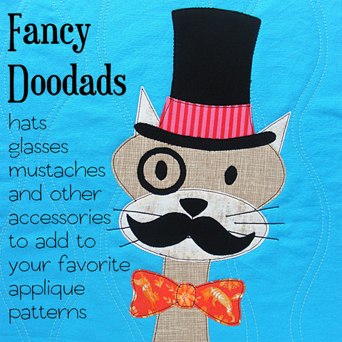 Fancy Doodads - applique pattern