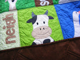 Noisy Farm Quilt Pattern