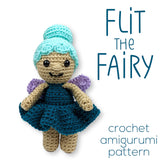 Flit the Fairy Crochet Amigurumi Pattern