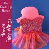 Flower Fairy Pattern for Dress Up Bunch Dolls