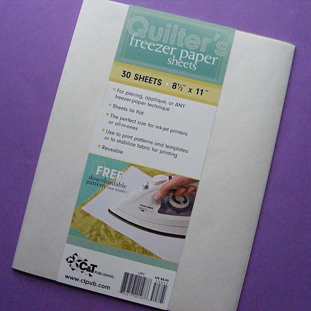 Printable Freezer Paper Sheets